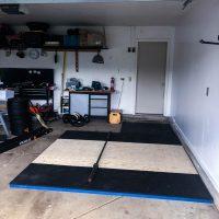 how to build a diy deadlift platform » home gym build