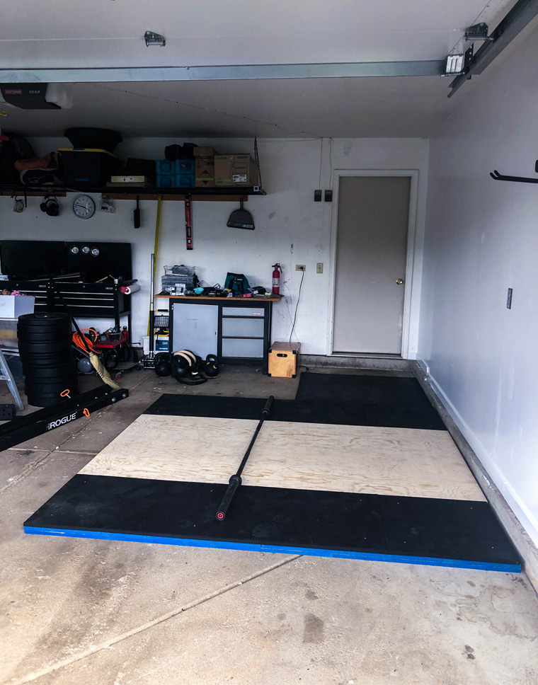 How To Build A Diy Deadlift Platform Home Gym Build