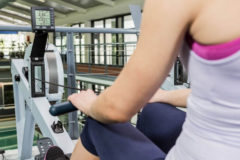 how to use the proper damper settings for an indoor rower