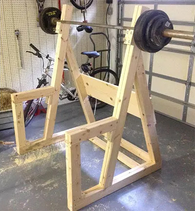 Wooden Diy Squat Stand