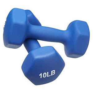 lightweight single dumbbell pairs for beginners