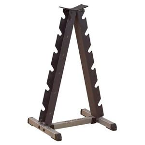 small a-frame dumbbell rack