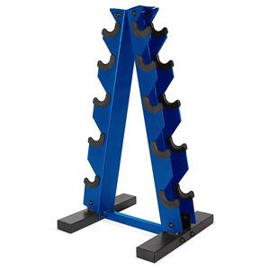 a-frame vertical dumbbell rack
