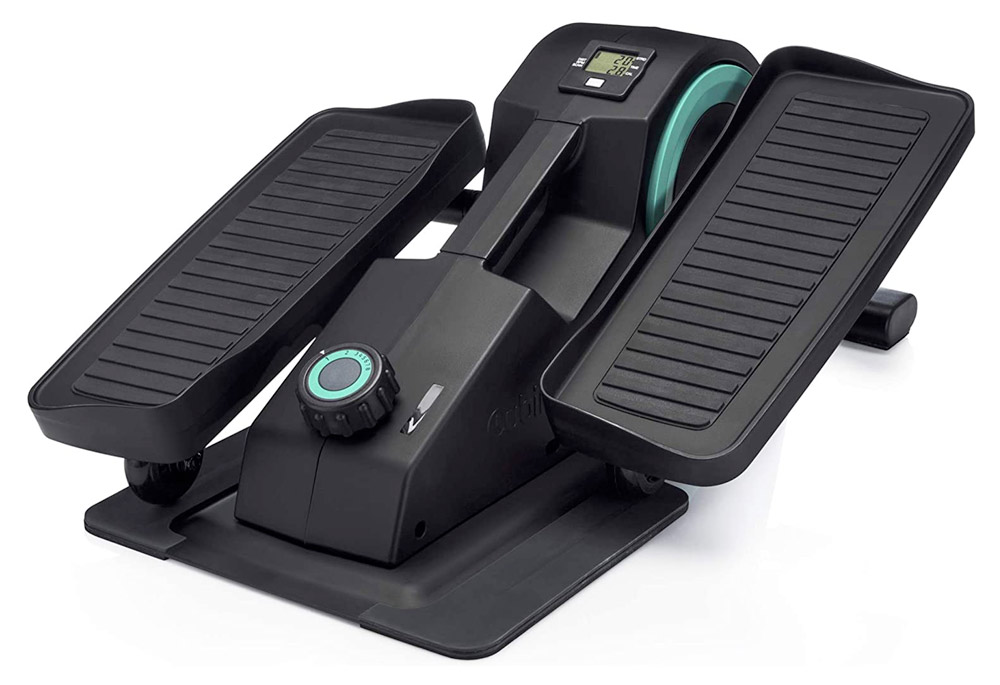 portable mini stair stepper for under a desk