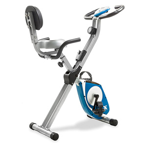 folding exercise bike for small spaces