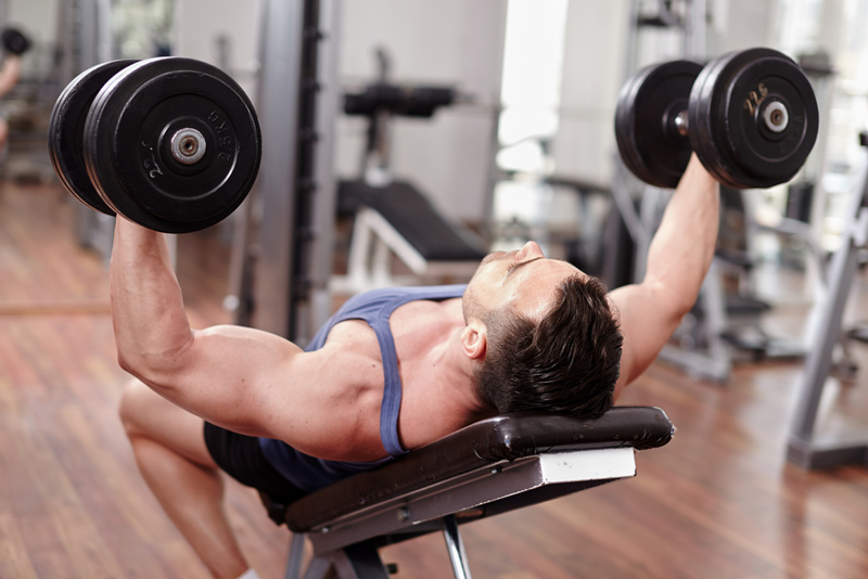 foldable portable bench press for dumbbell workouts