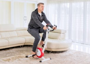 Folding Home Exercise Bike
