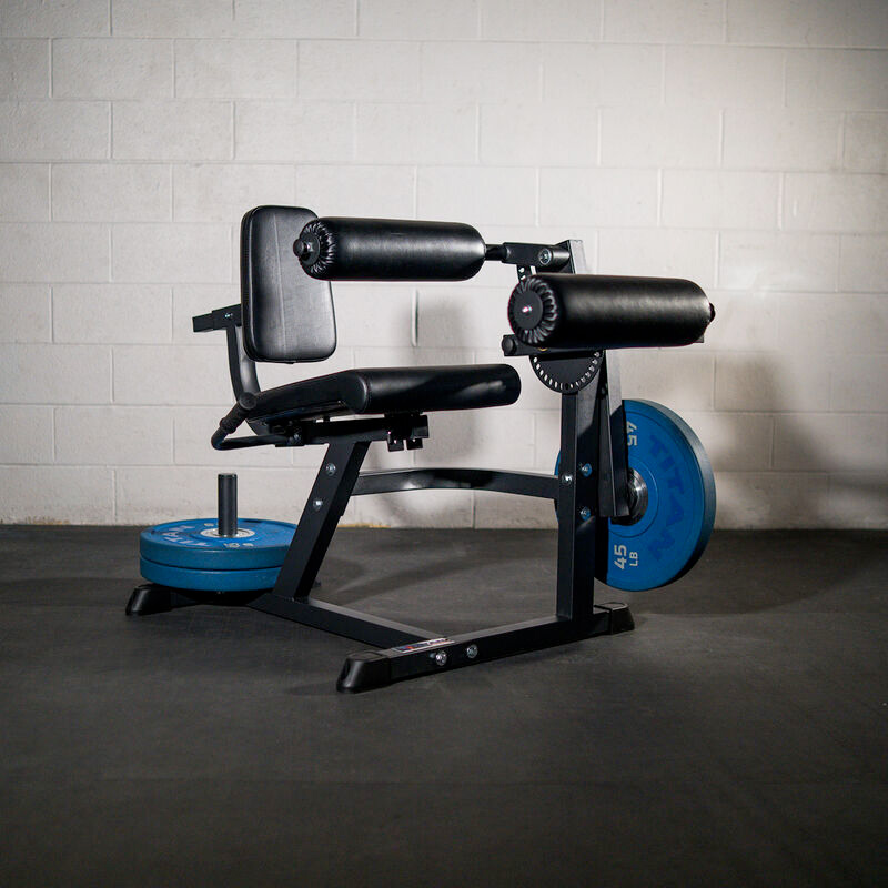 leg curl and extension machine for a home gym