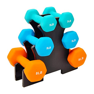 lightweight beginner dumbbell set
