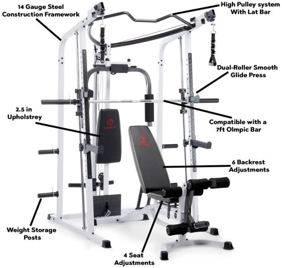 Marcy Smith Cage Workout Machine Parts