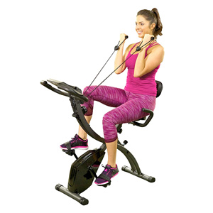 lightweight folding stationary bike