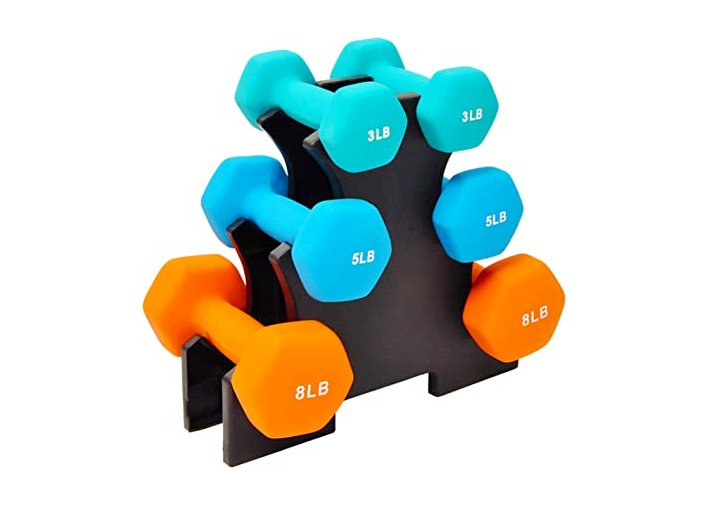 small beginner dumbbell set