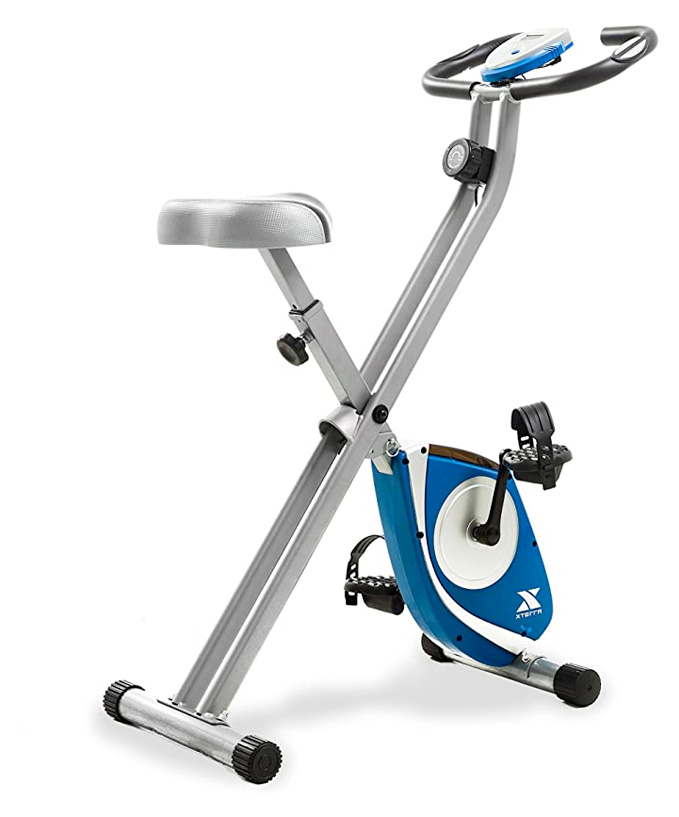 lightweight and small folding exercise bike for an apartment