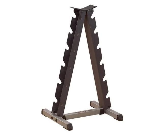 body solid vertical dumbbell rack
