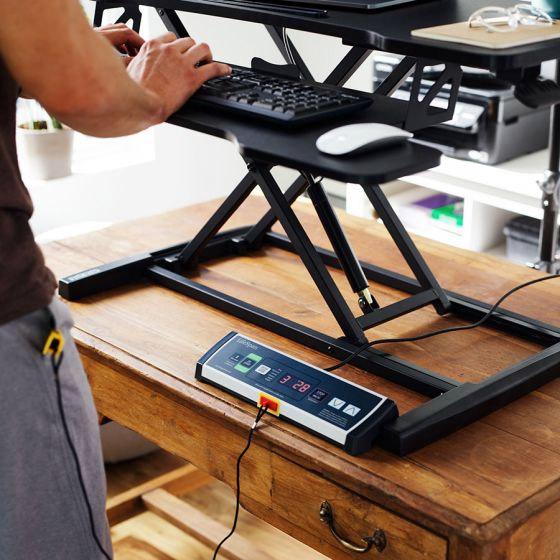 lifespan standing desk treadmill controls