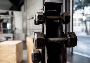 Vertical Dumbbell Rack For Small Apartments And Home Gyms