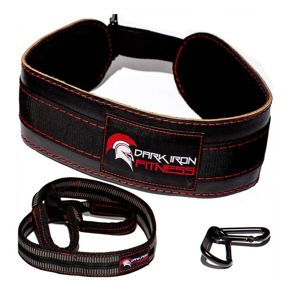 weighted dip belt for weight lifting